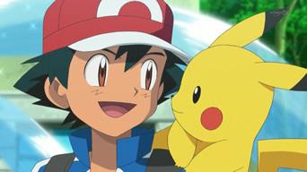 pokemon xy ash and pikachu