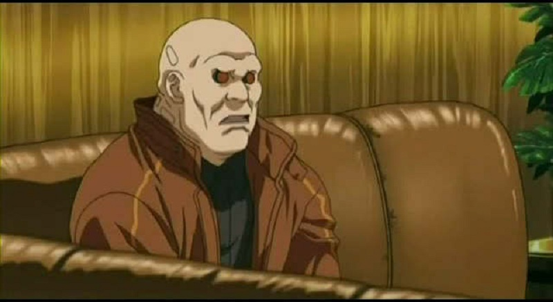Ghost in the Shell - Borma sitting