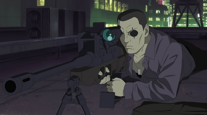 Ghost in the Shell - Saito main