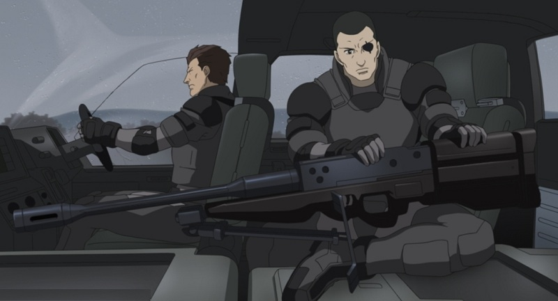 Ghost in the Shell - Saito on a mission