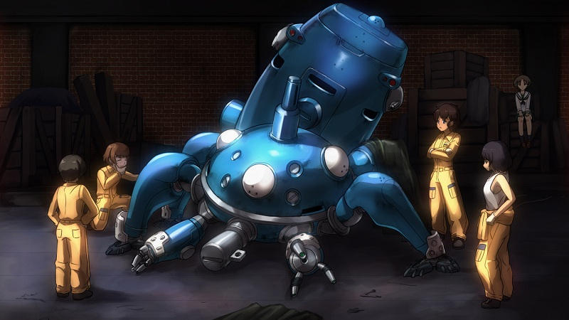Ghost in the Shell - Tachikoma repairs