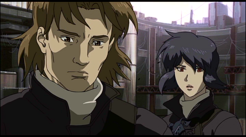 Ghost in the Shell - Togusa with Motoko