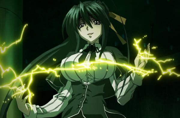 High School DxD Akeno Holy Lightning