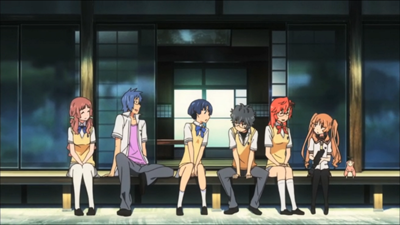 Ano Natsu de Matteru Character Group Image