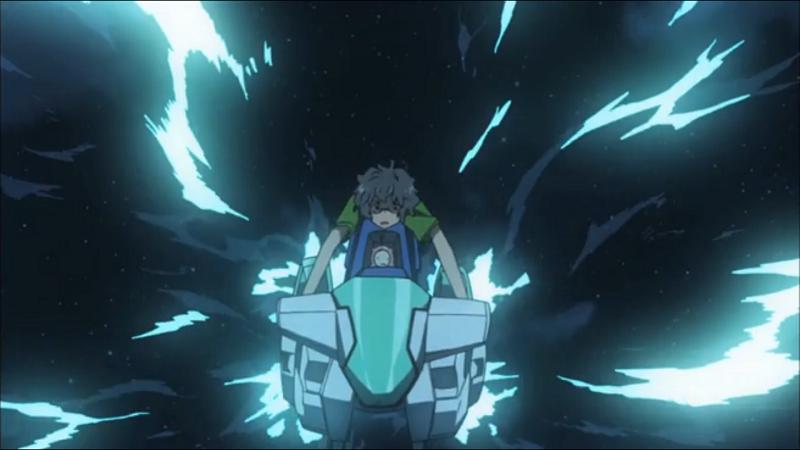 Ano Natsu de Matteru Kaito Kirishima on Spaceship