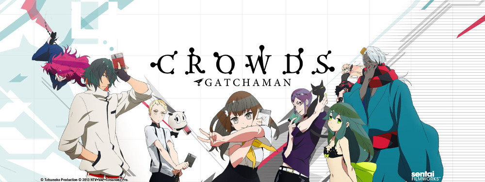 Gatchaman Crowds - Main Cast