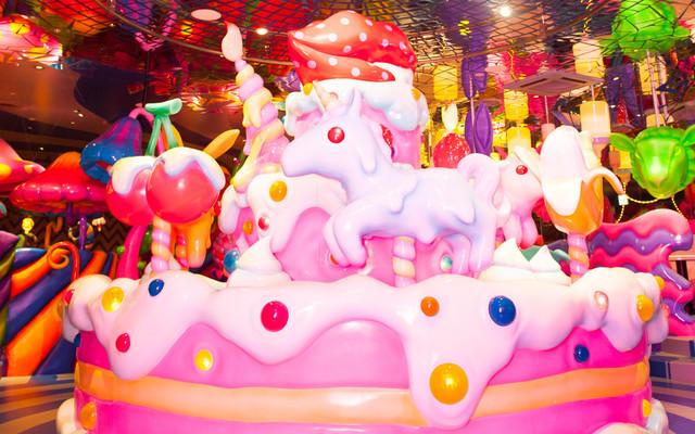 Kawaii Monster Cafe merry go round