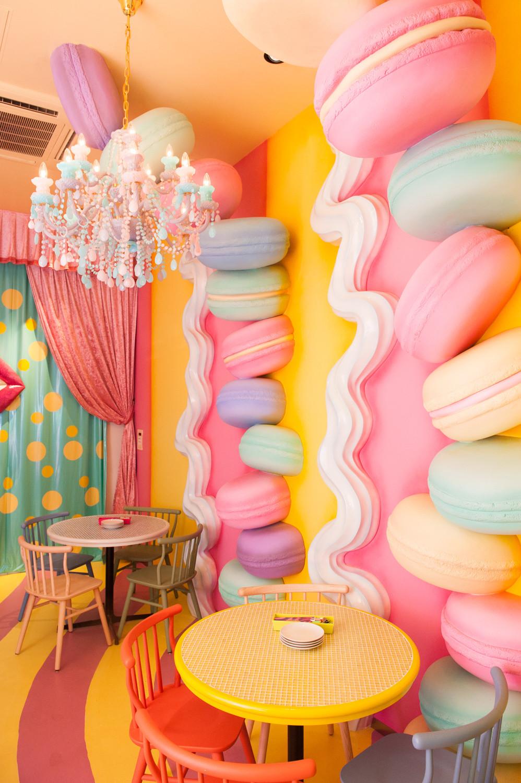 Macaron room Kawaii Monster cafe
