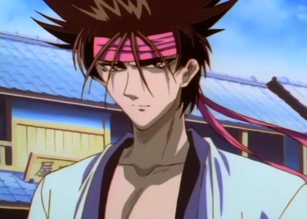 Rurouni Kenshin Sano stare