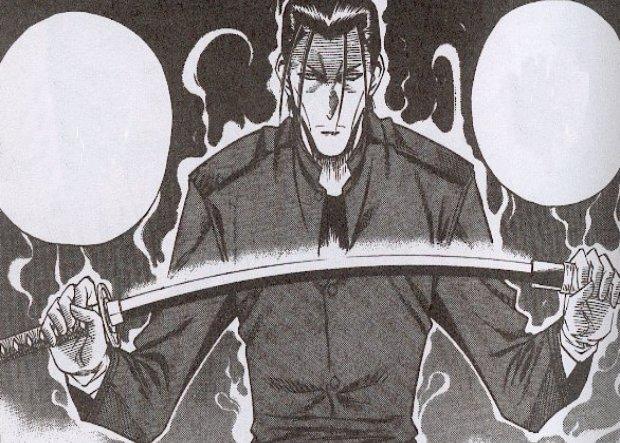 Rurouni Kenshin Saito ready to fight