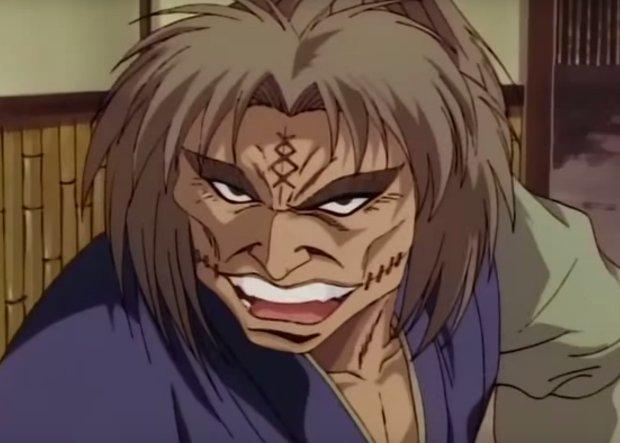 Rurouni Kenshin Akamatsu talking