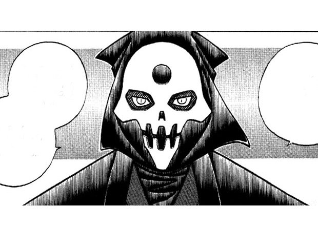 Rurouni Kenshin Gein looks evil