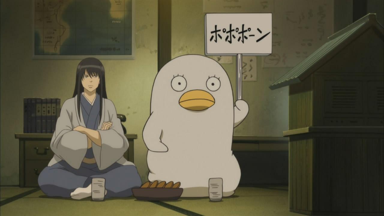 Gintama Katsura and Elizabeth