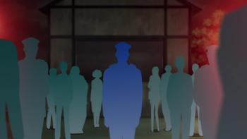 Ranpo Kitan: Game of Laplace - silhouettes