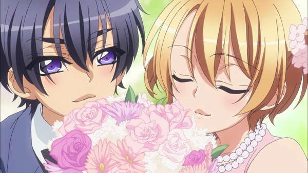 Young Ichijo Ryoma and Izumi Sena from Love Stage!!