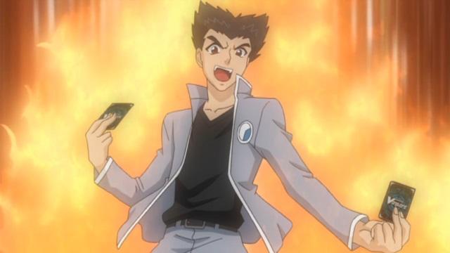 Cardfight!! Vanguard morikawa fights