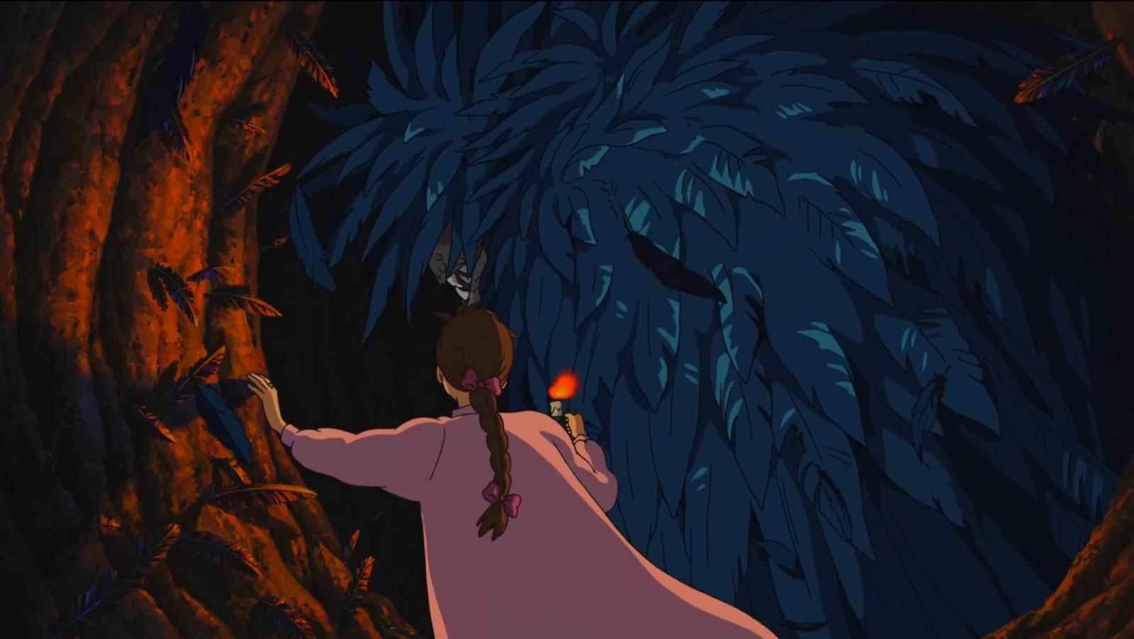 Howl no Ugoku Shiro, Howl in bird form