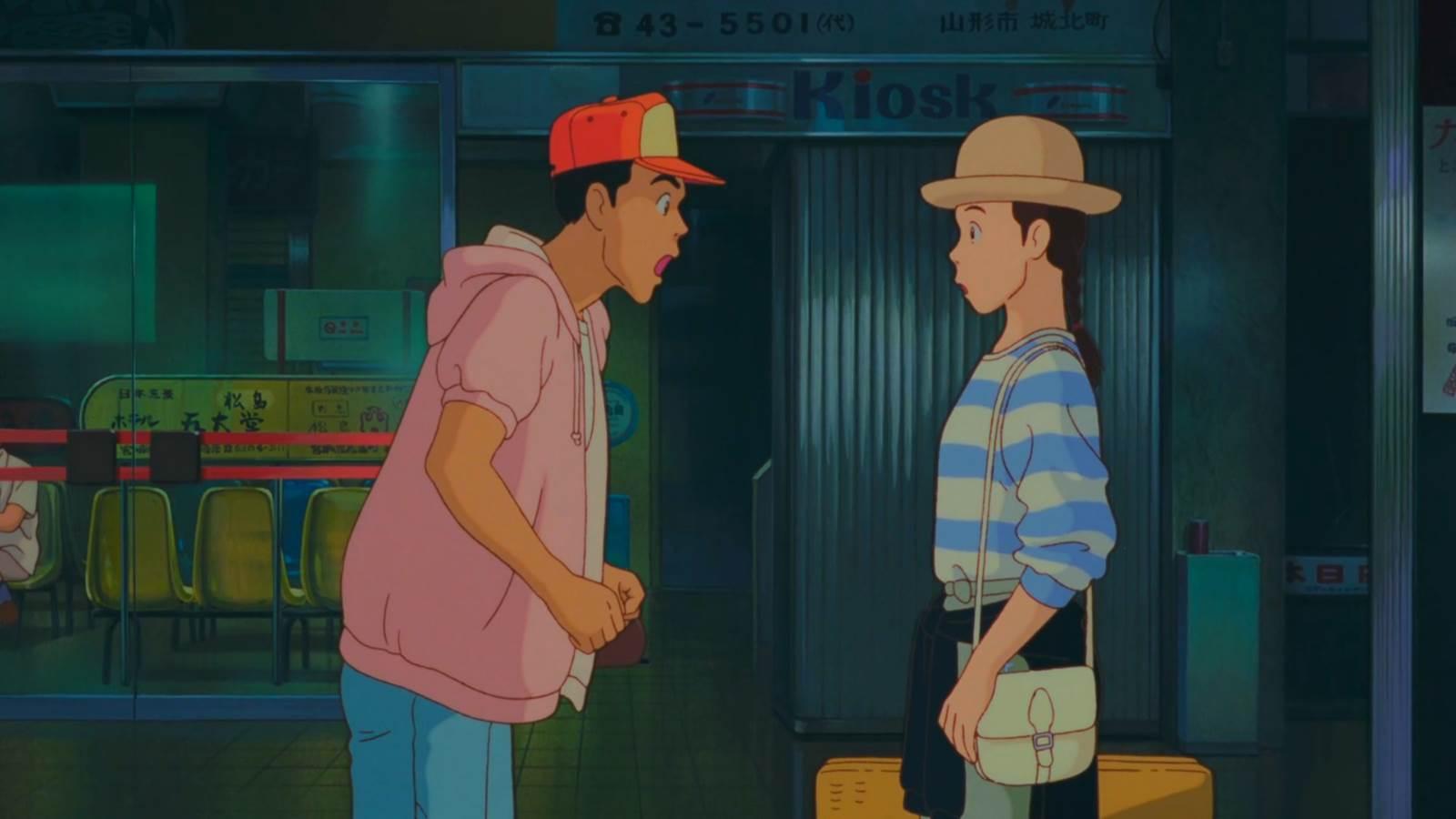 Omoide Poroporo, Taeko meets Toshio