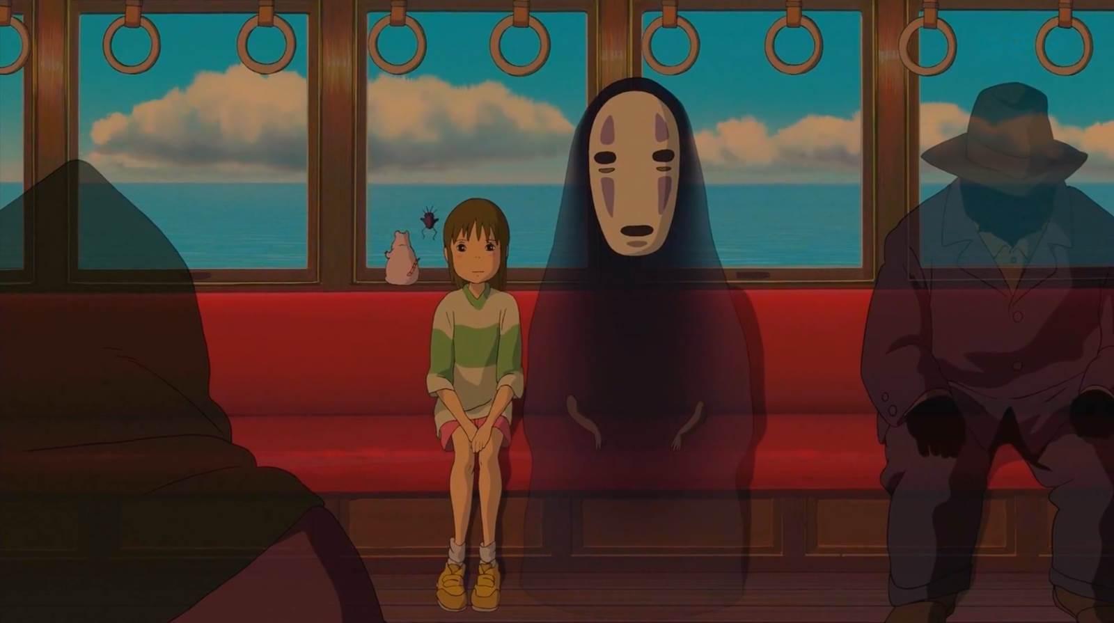 Sen to Chihiro no Kamikakushi, Chihiro travels to find Zeniba