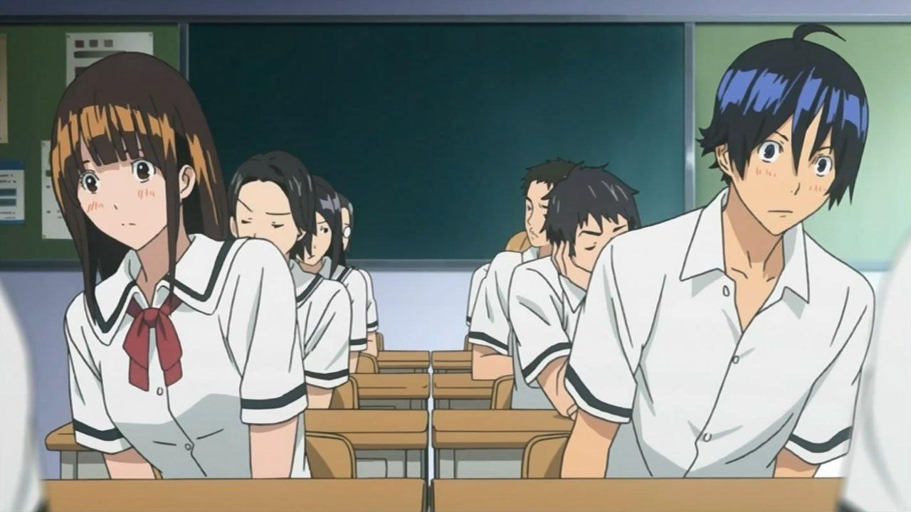 Bakuman Miho and Mashiro