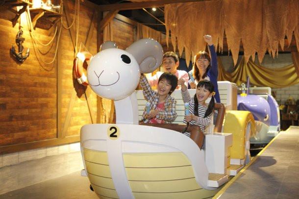 J-World Tokyo One Piece Soldier Dock Adventure