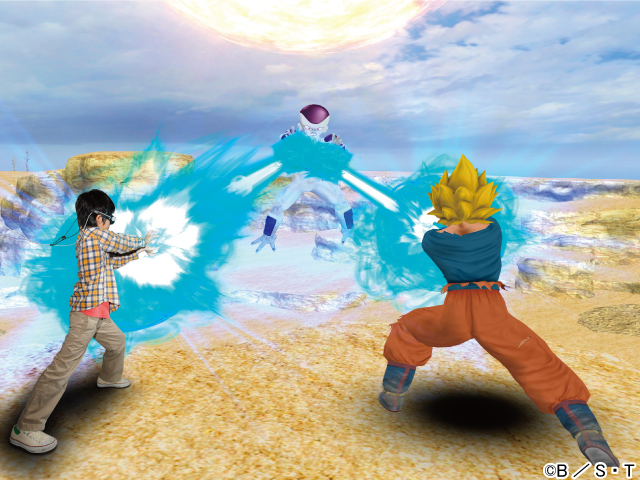 J-World Tokyo Dragon Ball Kamehameha