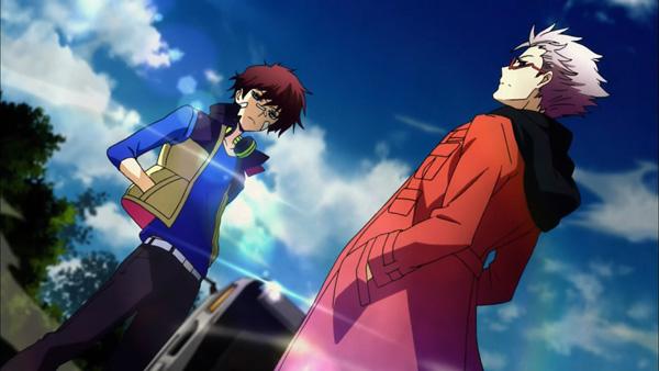 Nice & Murasaki from Hamatora The Animation