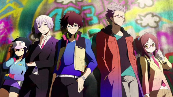 Characters from Hamatora The Animation