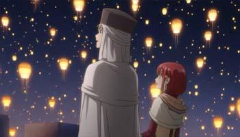 Zen Shirayuki Lanterns Akagami no Shirayukihime