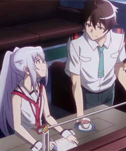 Linguistics - Plastic Memories Isla and Tsukasa