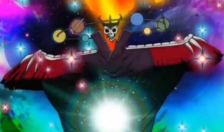 Space Dandy Admiral Perry
