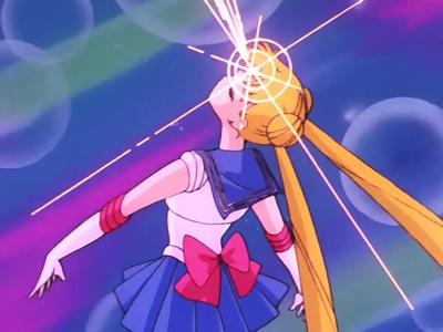 Bishoujo Senshi Sailor Moon: Crystal Usagi Tsukino/Sailor Moon old transformation