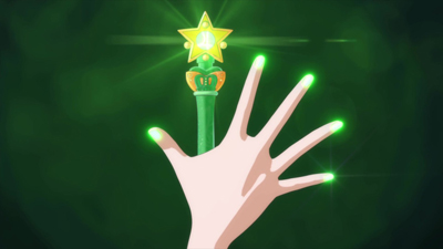 Bishoujo Senshi Sailor Moon: Crystal Makoto Kino/Sailor Jupiter new transformation