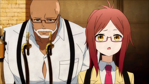 Master & Koneko from Hamatora The Animation