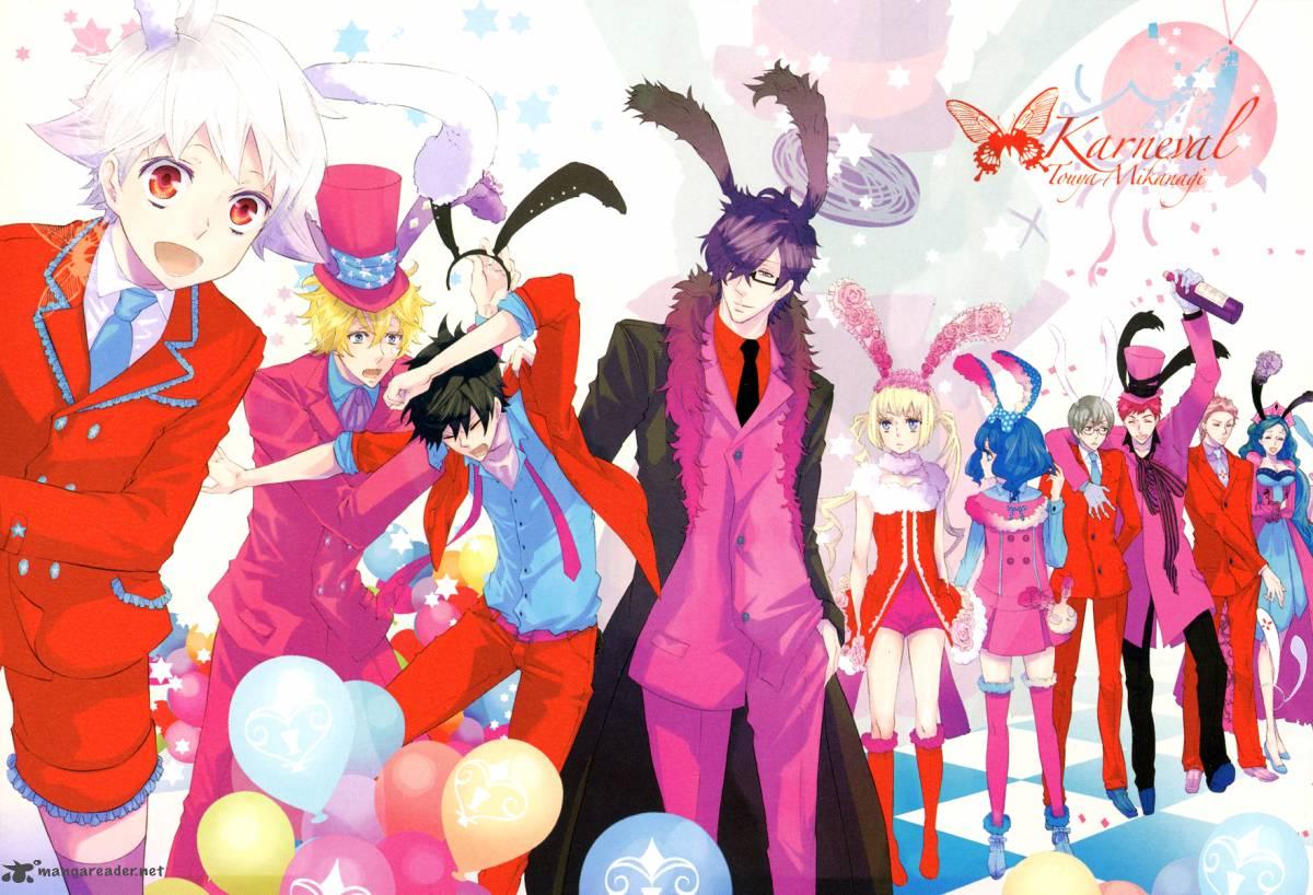 Karneval Characters