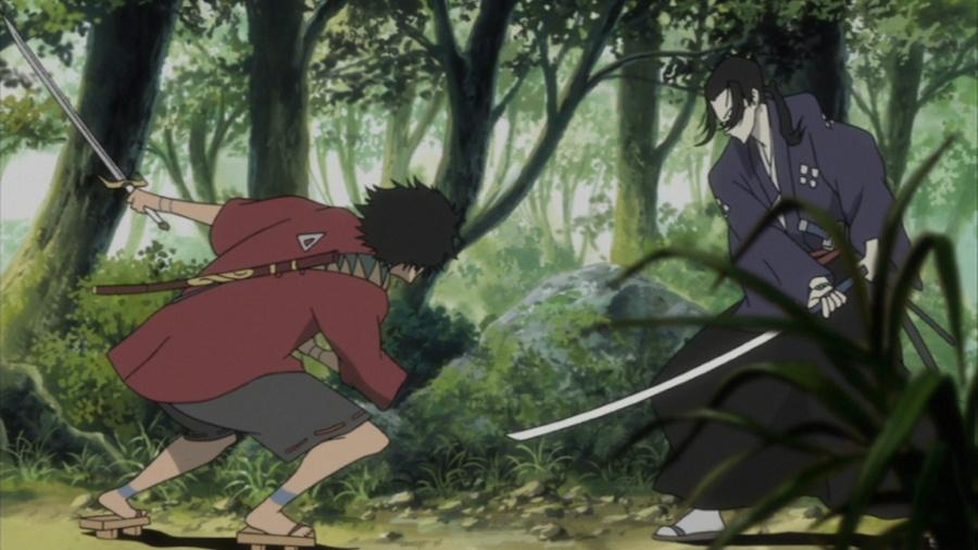 Samurai Champloo - Mugen and Jin