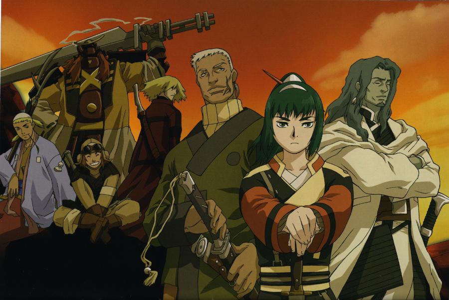Samurai 7 - Cast