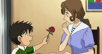 Linguistics - Detective Conan - young Kaito Kuroba and Yukiko Kudo