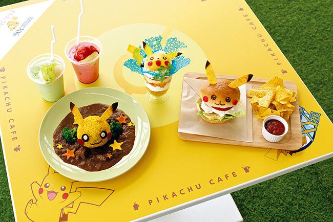 pikachu Pokemon Cafe