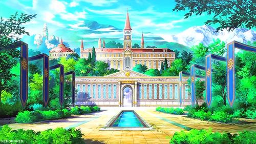 Kamigami no Asobi: school