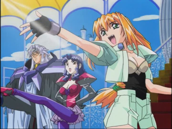 Lucky☆Star Heppoko Jikken Animation Excel Saga