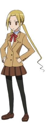 Seitokai Yakuindomo Suzu Hagimura