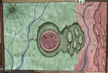 Creta map from Fullmetal Alchemist