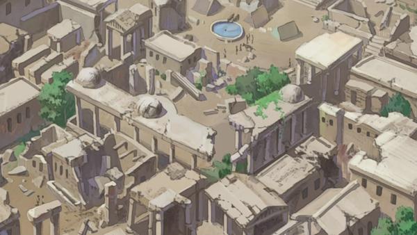 Xerxes ruins from Fullmetal Alchemist