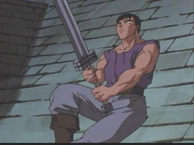 Berserk Sword Rooftop
