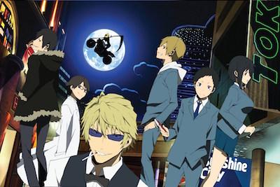 DRAMAtical Murder Durarara!! Anime