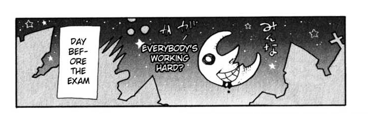 Soul Eater - The Moon's dialogue