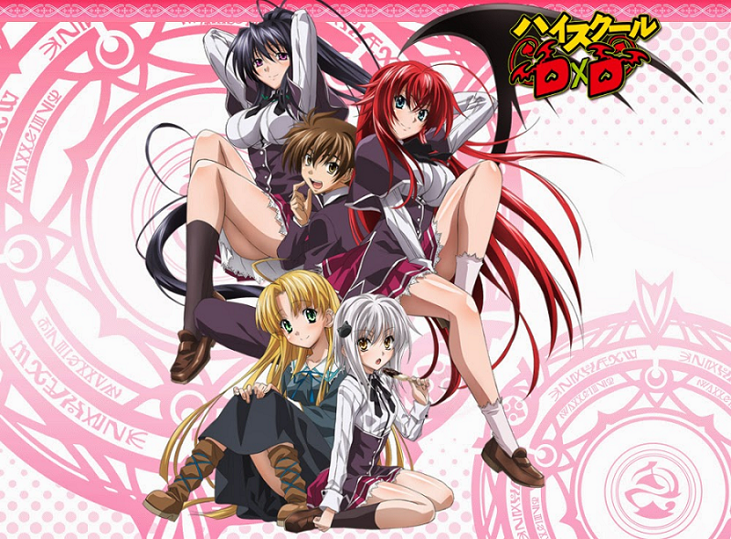 High School DxD Characters