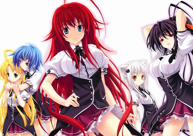High School DxD Female Characters