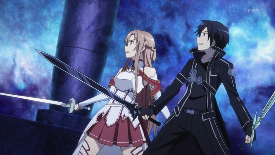Sword Art Online Kirito Asuna Party